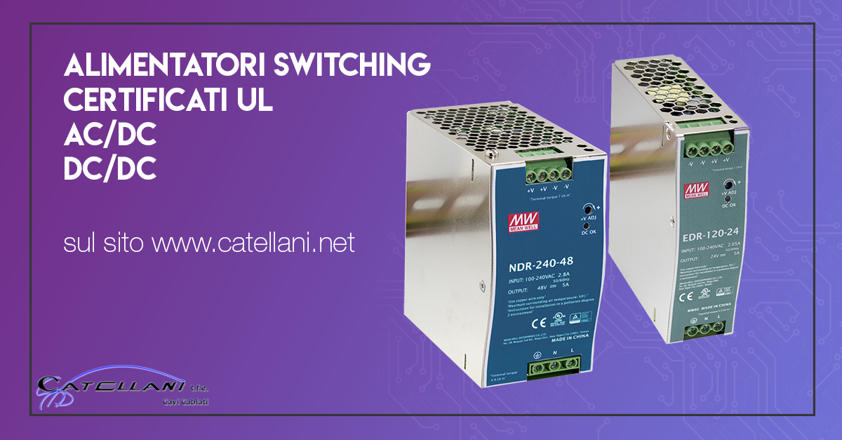Alimentatori Switching MeanWell